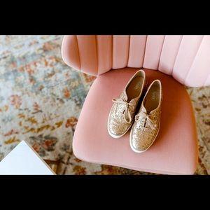 Rose Gold Keds sneakers